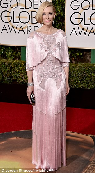 kate blanchett golden globes givenchy
