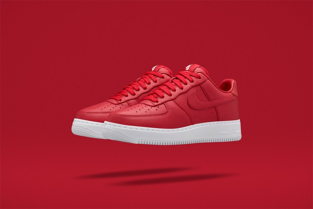 basket air force one rouge femme