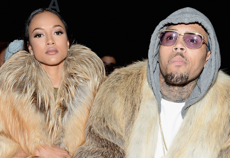 Karrueche Tran enceinte de Chris Brown