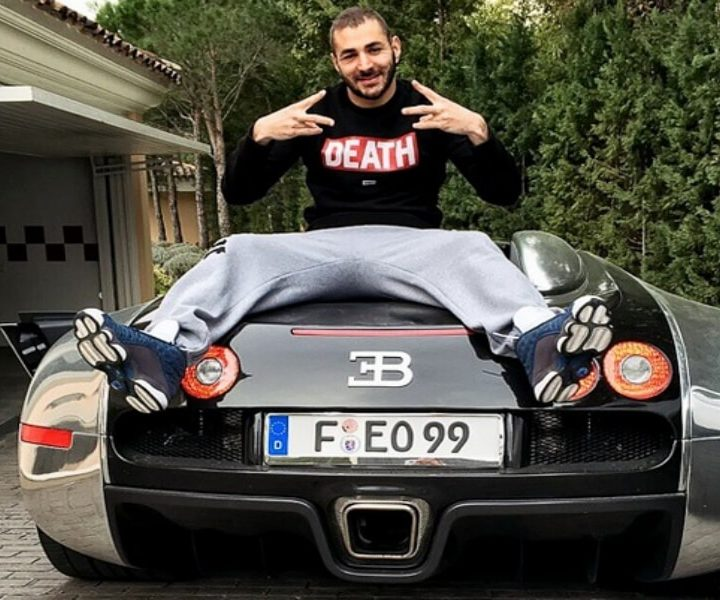 Quand Benzema s'essaye au rap... [VIDEO]