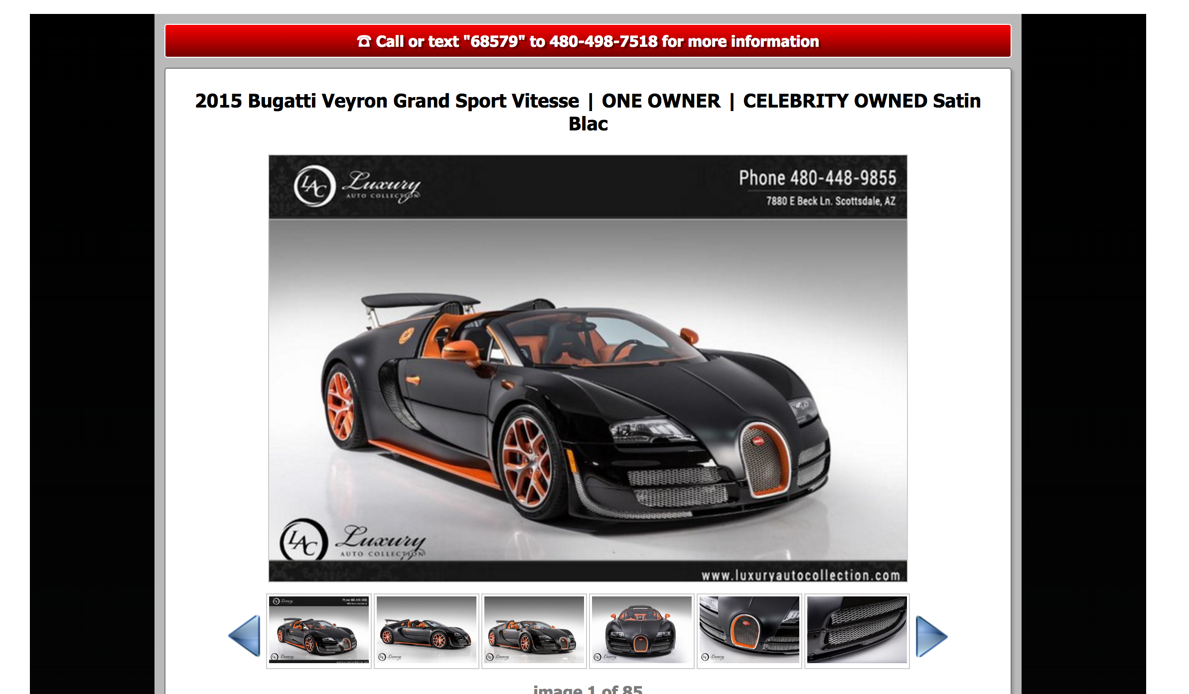 exciting bugatti veyron grand sport vitesse mayweather noisiestpassenger. Black Bedroom Furniture Sets. Home Design Ideas