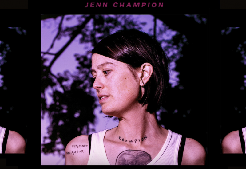 JENN CHAMPION Annonce son album « Single Rider » Disponible le 13 Juillet