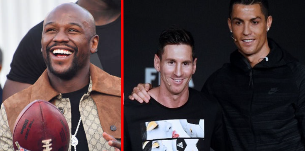 mayweather Ronaldo Messi