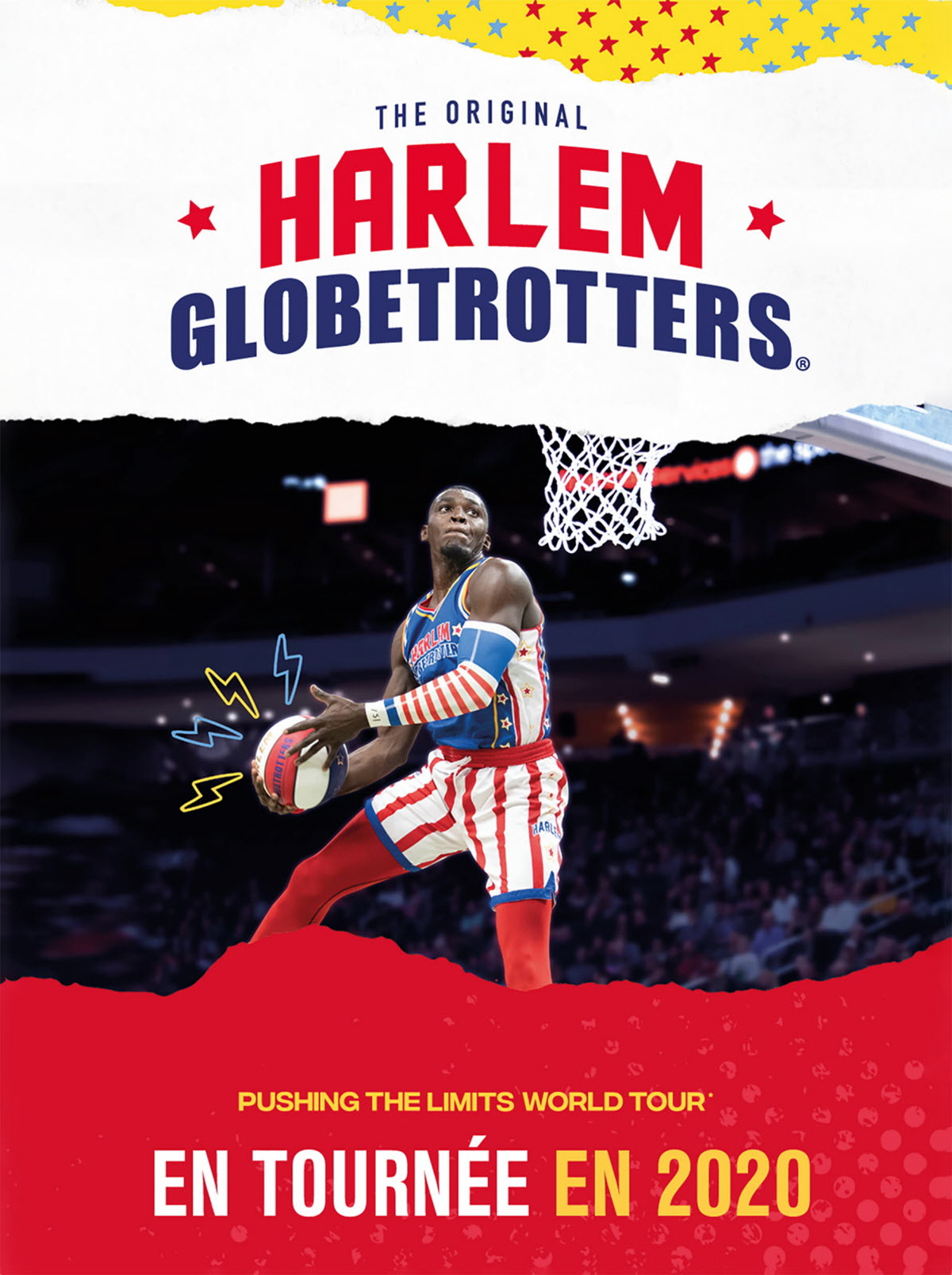 Harlem Globetrotters - Buzz de fou