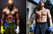 Floyd Mayweather Laugan Paul